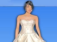 Wedding dress with rihanna
